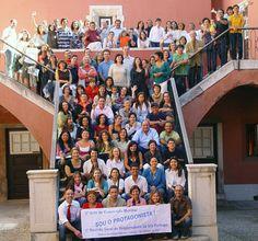 La SGI de Portugal realizó un curso de capacitación para líderes en el Palacio de la Independencia de Lisboa, el 7 de octubre de 2007.