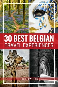 To celebrate my birthday Im sharing the 30 best travel experiences I had in Belgium during my thirties! Voyage Europe, Europe Travel Guide, Europe Destinations, Travel Guides, Cool Places To Visit, Places To Travel, Places To Go, Tahiti, Weekender