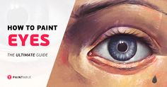 Learn how to paint striking eyes... aka the 'windows to the soul'