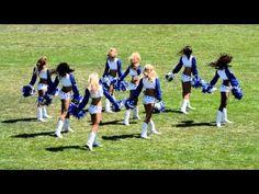 Dallas Cowboy Cheerleaders 2012 in Oxnard CA - YouTube Cheerleading 5af102471