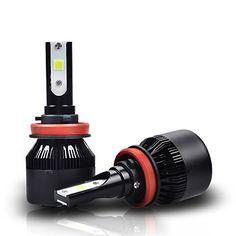 4-Side 9007 LED Headlight Bulb Kit for Dodge Ram 1500 2500 3500 03-05 Hi-Lo Beam