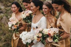 Nicole Warne of Gary Pepper Girl Had A Wild Garden Wedding in New Zealand