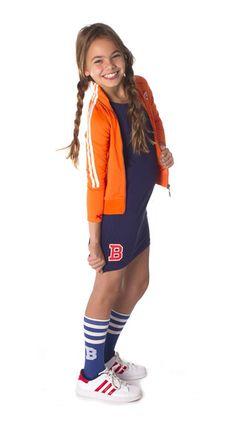 Vest stripe orange Br@nd for girls summer 2016 www.brandforgirls.nl