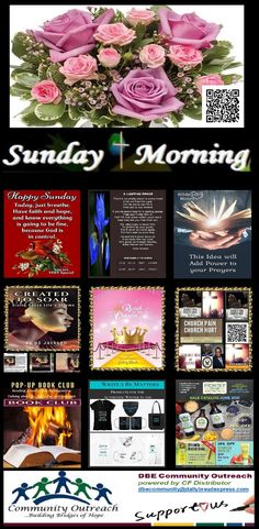 ✞ Sunday Morning ❤ Power Pack for People on the Go! ✍ Open 24/7 Sunday Morning, Happy Sunday, Bridges Of Hope, Bible Notes, Facebook Likes, Just Breathe, Praise And Worship, Make You Feel, Blessing