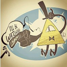 And it's creepy because he's on the money and little Gideon's model house structure of the mystery shack, so he is watching them!<<< and he's watching me bcuz for some reason there's an eye on my hand Gravity Falls Bill Cipher, Gravity Falls Art, Dipper Y Mabel, Grabity Falls, Mabill, Bipper, Reverse Falls, Billdip, Disney Shows
