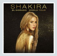 2017 - SHAKIRA, Dec. 3 in Milan; tickets are available in Vicenza at Media World, Palladio Shopping Center, or online at www.ticketone.it and www.geticket.it.