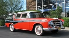 '56 Nash Rambler CountryWagon Custom