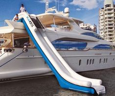 National Marine Suppliers provides yacht supplies and yacht provisions. Fort Lauderdale marine supplies and yacht chandlers. International yacht services and dock delivery 24 hours a day. Boat Supplies, Inflatable Slide, Below Deck, Think Big, Boat Dock, Super Yachts, Months In A Year, Water Crafts, Fort Lauderdale