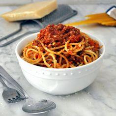 Cooking with Manuela: Traditional Italian Bolognese Sauce - Ragu' alla Bolognese