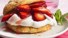 Strawberry Shortcake made with Grands Biscuits