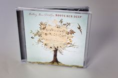 bethany barr phillips - graham yelton creative  christian music, cd design, tree, birds, roots  www.grahamyelton.com