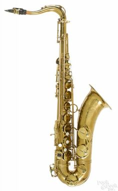 Selmer Mark VI brass tenor saxophone, ca. 1961, serial #95509, with its original Selmer case - Price Estimate: $2000 - $4000