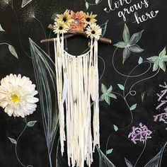 """Isn't this photo just beautiful! Thank you for sharing your masterpiece @beccabeboo! We your dream catcher!  Repost @beccabeboo: """"""""To catch your dream you must first chase it"""" #pinspirationaz #dreamcatcher #boho #goodvibes #peacelove #dreams #diy #highstreetaz #phoenix #scottsdale #az"""