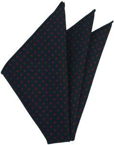 Macclesfield Printed Silk Pocket Square #26
