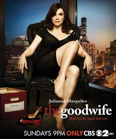 """Julianna Margulies in """"The Good Wife"""". One of my favourite TV series."""