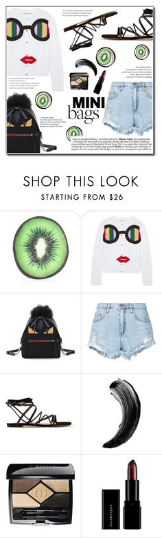"""""""Have Fun ; Mini Bag"""" by devaanggraenii ❤ liked on Polyvore featuring CITYSHOP, Alice + Olivia, Fendi, Nobody Denim, Gianvito Rossi and Christian Dior"""