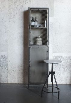 Design Vintage | Industrial Mesh Locker | Metal Lockers