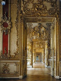 Gold suite of Catherine Palace, Tsarskoye Selo