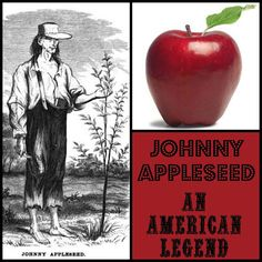 Free Johnny Appleseed homeschool lessons unit study lapbook