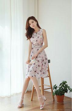 feminine flowing dress