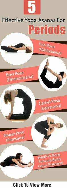 5 yoga poses for periods