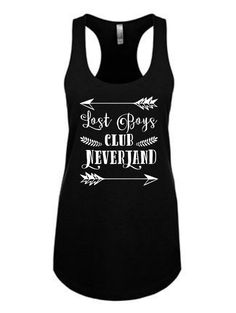 Lost Boy Club Neverland - Racerback tank top