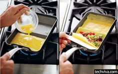 Nordic Ware Rolled Omelette Pan - http://99covers.com/blog/simple-ideas-that-are-simply-genius-part-8/