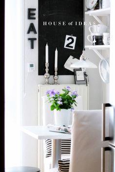 HOUSE of IDEAS Kitchen Black&white http://myhouseofideas.blogspot.de/
