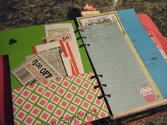 """DIY Planner - the """"Eat"""" Section"""