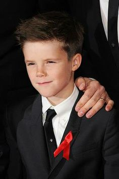 Cruz Beckham - (b 02/20/2005) son of David and Victoria Beckham