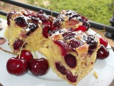 Recipes - fluffy cake with cherries My Recipes, Sweet Recipes, Cake Recipes, Dessert Recipes, Cooking Recipes, Scottish Recipes, Hungarian Recipes, Turkish Recipes, Romanian Desserts