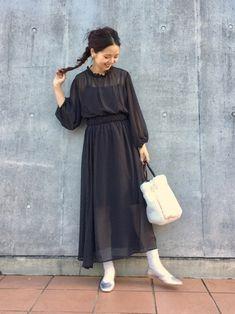 8422042155902 MihoUesugi(Kastane 金沢フォーラス店)|Kastaneのワンピースを使ったコーディネート