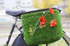 Marsupial Bicycle Bags, Grass Shopper by Lovely Bicycle!, via Flickr