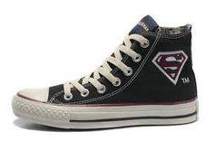 28f1d98576b63 Converse Superman logo shoes for men