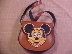 Vintage Mickey Mouse Purse.