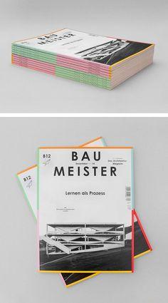Baumeister, das Architektur Magazin  Art Direction B12 Callwey Verlag, München: