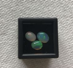 Other Opals 3826: 3 Oval Shape Loose Natural Opal Gemstones From Ethiopia - Total 2.5 Cts -> BUY IT NOW ONLY: $45 on eBay!