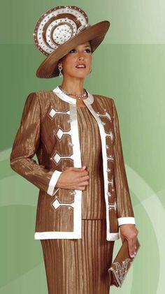 First Ladies Church Suits   Ladies Church Suits BenMarc International 3pc Suit 4428 image