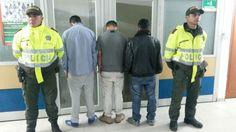 Los detenidos serán judicializados ante el operador judicial competente, indicó la Policía. / Suministrada - El Nuevo Liberal.