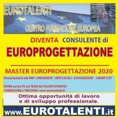 #LAVORO IMMEDIATO CON LE COMPETENZE SPECIALISTICHE IN #EUROPROGETTAZIONE www.eurotalenti.it