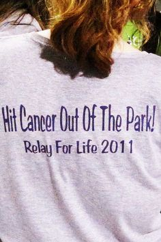 Hit Cancer Out Of The Park! Organize a company softball game and use participation fees as a donation! Can hold a homerun contest for extra donations.