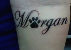 dog memorial tattoos - Google Search