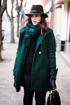 // coat, scarf, everything > winter perfection //
