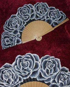 Beautiful Rose Fan