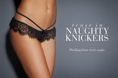 Hollywood Naughty Knickers - Frederick's of Hollywood