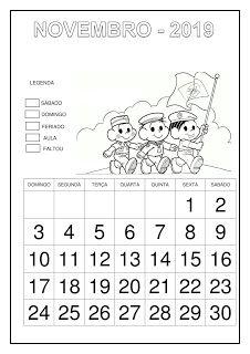 Calendário 2019 - Turma da Mônica School, 1, Professor, Abc Centers, Calendar For Kids, Cursive, Note Cards, Wedge
