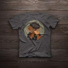 T-Shirt - Elegant Dachshund portrait -by Spara Fuori on Etsy