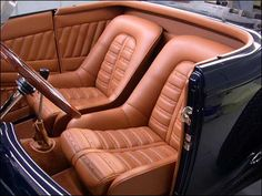 Car Interior Upholstery, Bmw Interior, Automotive Upholstery, Custom Car Interior, Car Interior Design, Truck Interior, Classic Sports Cars, Classic Cars, Custom Consoles