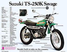 Suzuki TS 250 enduro klassieke motorfiets Enduro Motorcycle, Motorcycle Posters, Retro Motorcycle, Motorcycle Clubs, European Motorcycles, Vintage Motorcycles, Cars And Motorcycles, Japanese Motorcycle, Motor Scooters