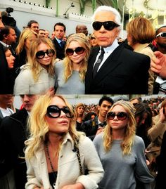 Mary Kate & Ashley Olsen - Chanel Event